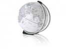 ,globe Tilt 11cm diameter alu / rubber