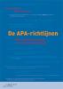 Petra  Poelmans, Olav  Severijnen,De APA-richtlijnen