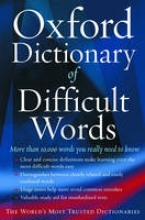 Hobson, Archie Oxford Dictionary of Difficult Words
