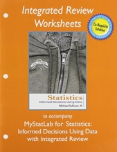 Michael, III Sullivan Worksheets for Statistics