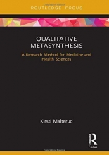 Kirsti Malterud Qualitative Metasynthesis