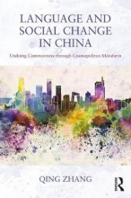 Qing Zhang Language and Social Change in China