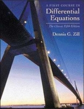 Dennis G. Zill A First Course in Differential Equations