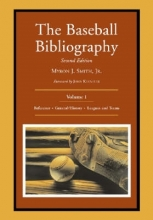 Smith, Myron J. The Baseball Bibliography v. 1
