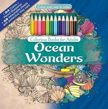 Ocean Wonders [With Coloring Pencils and Sharpener]