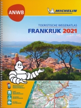 , ATLAS MICHELIN ANWB FRANKRIJK 2021