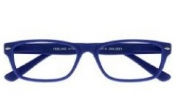 , Leesbril +2.50 Feeling blauw