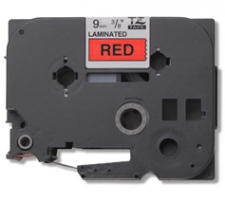 , Labeltape Brother P-touch TZE-421 9mm zwart op rood