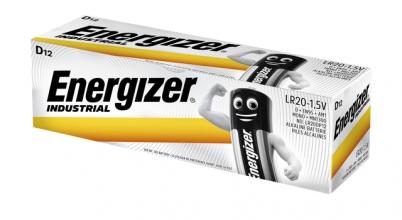, Batterij Industrial D alkaline doos à 12 stuks