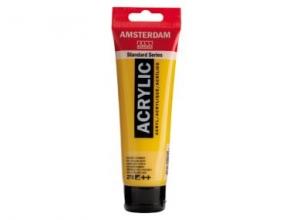 , Talens amsterdam acrylverf  tube 120 ml. azogeel donker 270