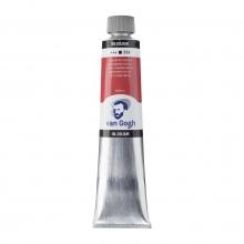 , Talens van gogh olieverf tube 200 ml cadmiumrood middel  314