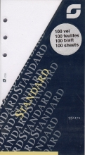 , Notitiepapier Succes Standard onbedrukt wit