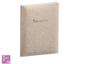, Receptiealbum garen gebonden 200x265mm wit