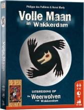 999-wee02 , Weerwolven in wakkerdam - volle maan in wakkerdam - kaartspel - 999 games