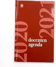 520doc111.ro , Schoolagenda docenten 2020-2021 hardcover rood