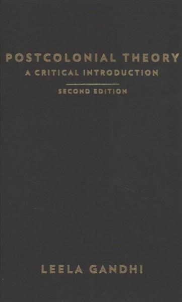 Leela Gandhi,Postcolonial Theory