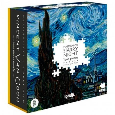 Lon-pz312u,Puzzel starry night - londji  1000 stuks 65x 46 cm