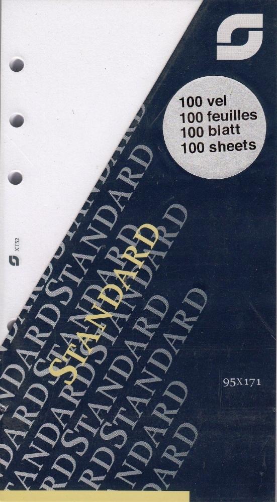 ,Notitiepapier Succes Standard onbedrukt wit