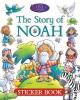David, Juliet, The Story of Noah Sticker Book