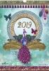 ,<b>Weekkalender 2019 spiraal lamystique</b>