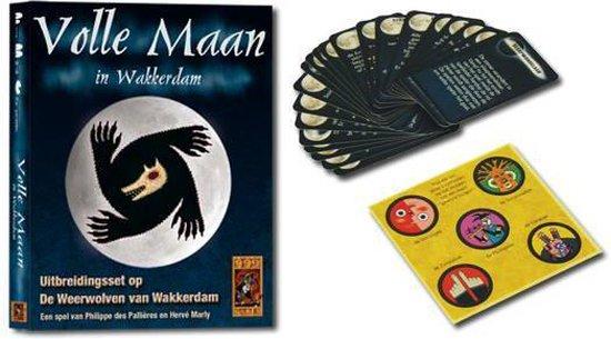999-wee02,Weerwolven in wakkerdam - volle maan in wakkerdam - kaartspel - 999 games