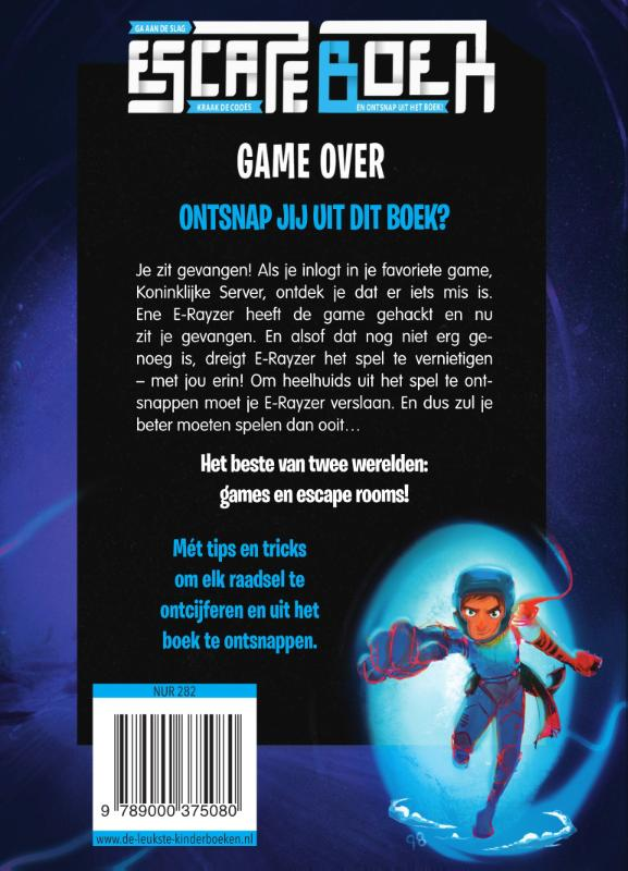 Alain Puyssegur,Escape boek - Game Over