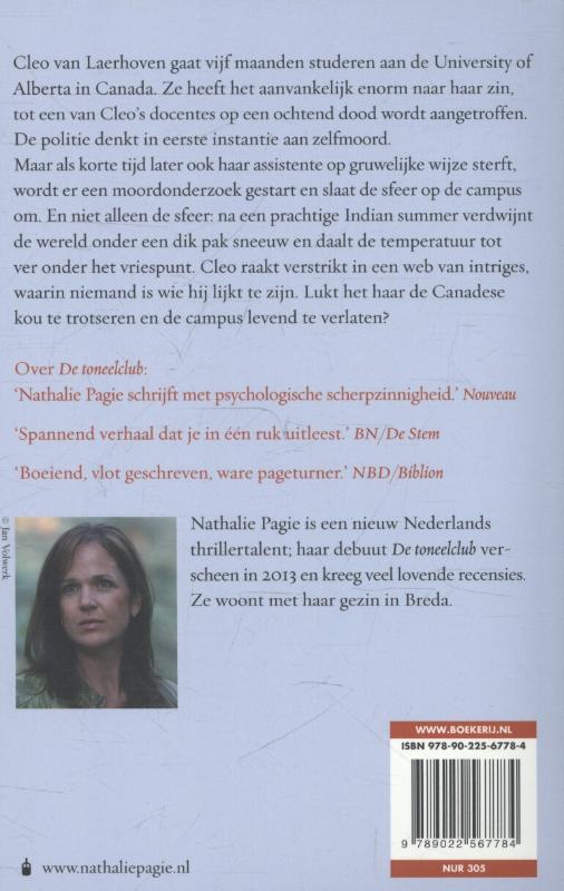 Nathalie Pagie,De campus