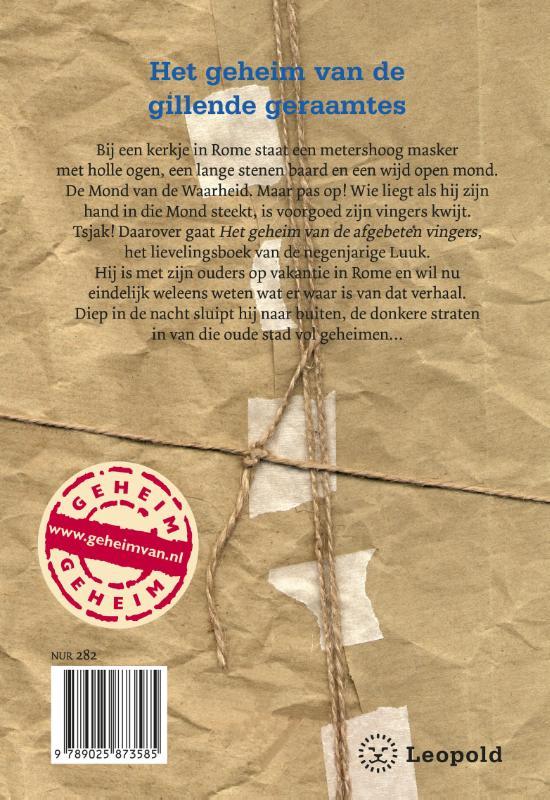 Rindert Kromhout,Het geheim van de gillende geraamtes