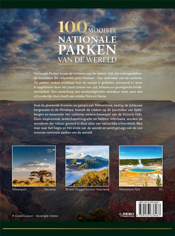 Hanns Joachim Neubert,100 mooiste nationale parken van de wereld