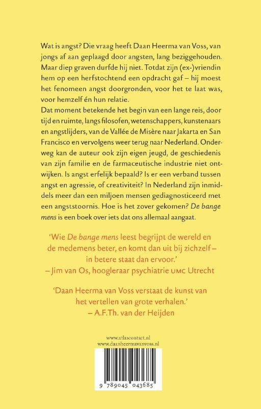 Daan Heerma van Voss,De bange mens