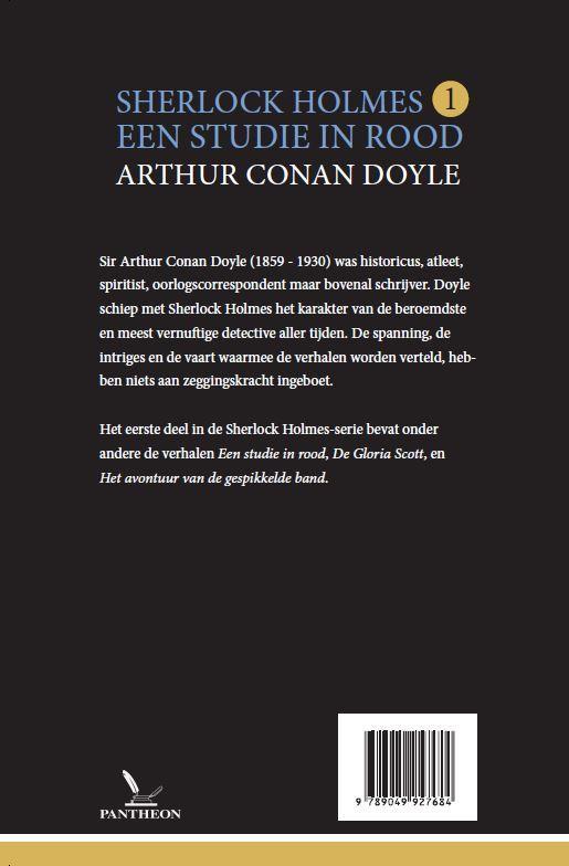 Arthur Conan Doyle,Een studie in rood