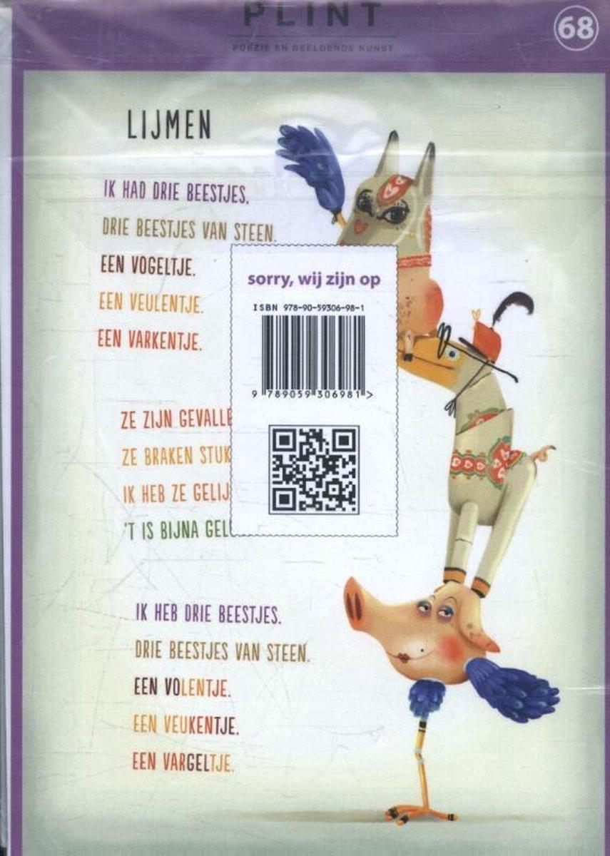 Joke van Leeuwen,Plint 10 poëziekaarten `Lijmen` Joke van Leeuwen en Job van Gelder