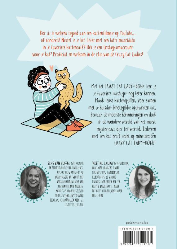 Elke Van Huffel,Crazy Cat Lady-boek