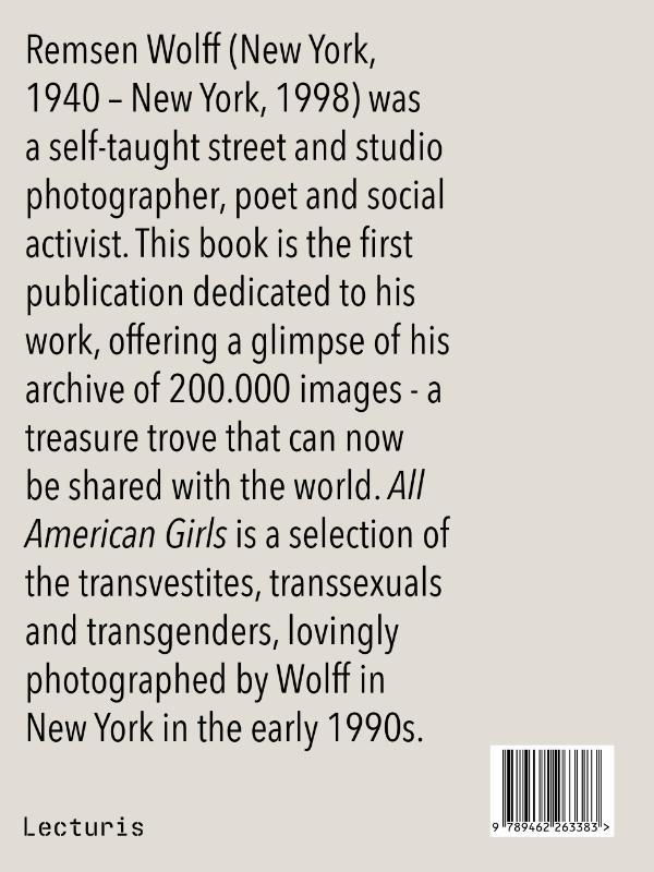 Remsen Wolff,All American Girls