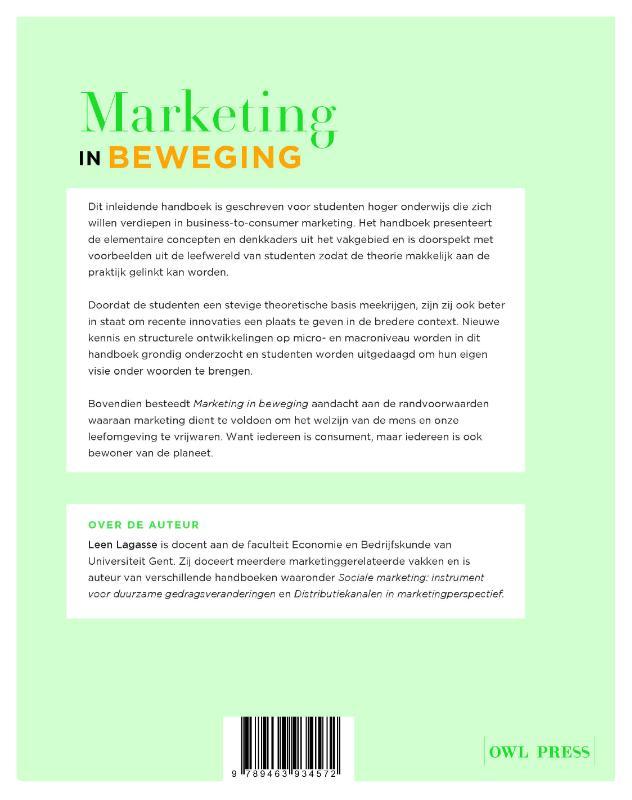 Leen Lagasse,Marketing in beweging