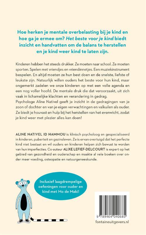 Aline Nativel Id Hammou,Het beste voor je kind