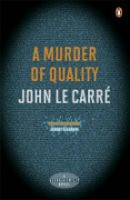 le Carre, John Murder of Quality
