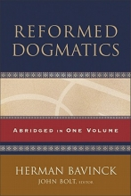 Herman Bavinck,   John Bolt Reformed Dogmatics