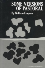 Empson, William Some Versions of Pastoral
