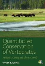 Michael J. Conroy,   John P. Carroll Quantitative Conservation of Vertebrates