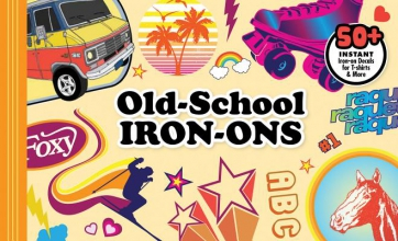 Old-school Iron-ons