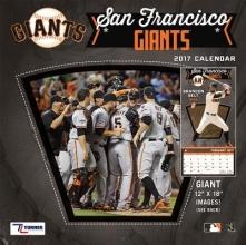San Francisco Giants 2017 Calendar