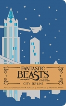 Insight Editions Fantastic Beasts City Skyline Hardcover Ruled Notebook