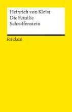 Kleist, Heinrich von Die Familie Schroffenstein