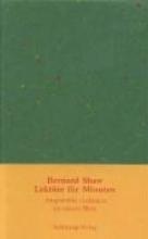 Shaw, Bernard Lektüre für Minuten