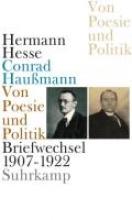Hesse, Hermann Von Poesie und Politik