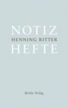 Ritter, Henning Notizhefte