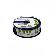 , DVD-R MediaRange 4.7GB|inkjet printable, 25 stuks