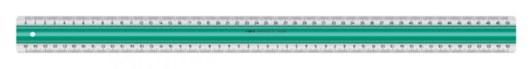 , Liniaal Linex super S50 500mm transparant