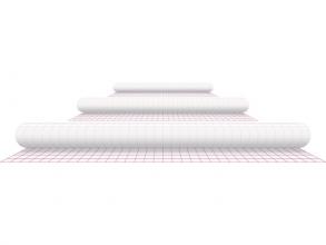 , Kaftplastic Boeklon 50cmx25m zelfklevend  transparant